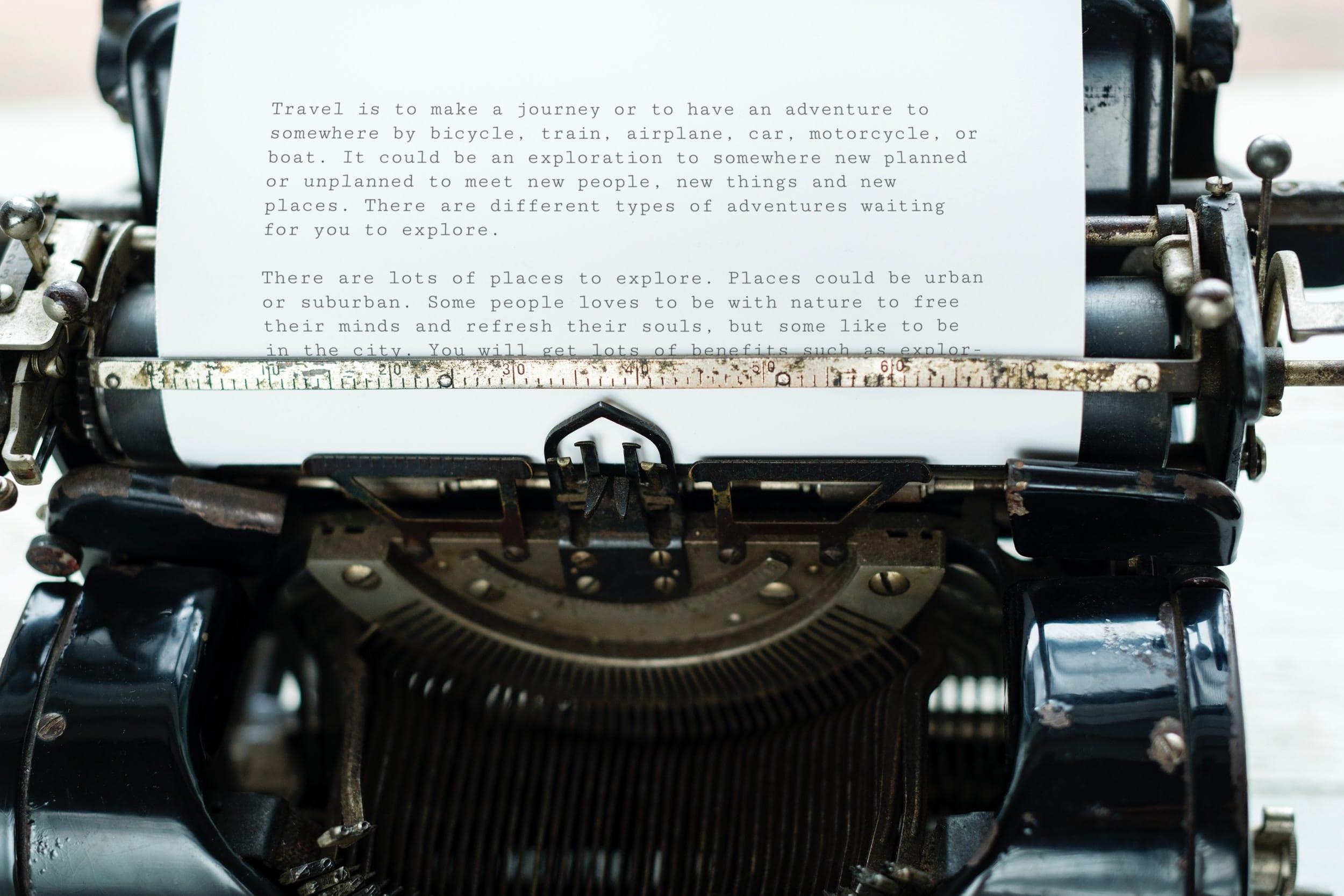 Diferença entre documentos e registros