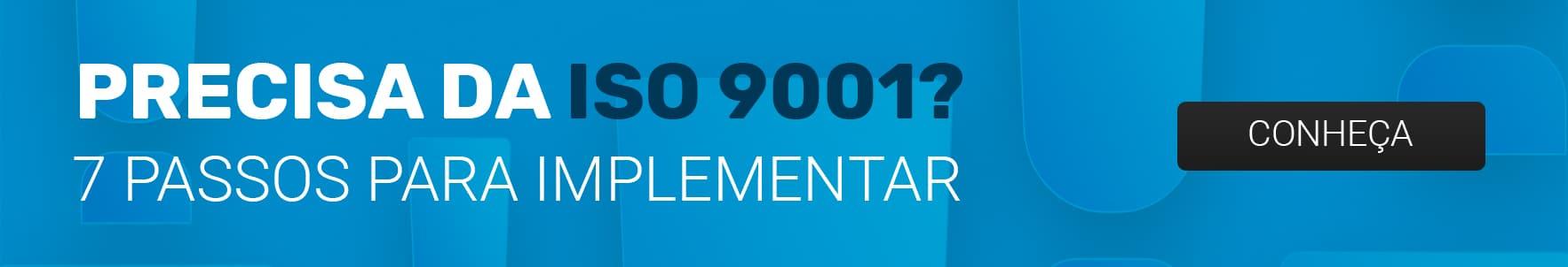 certificacao iso 9001 - 7 passos