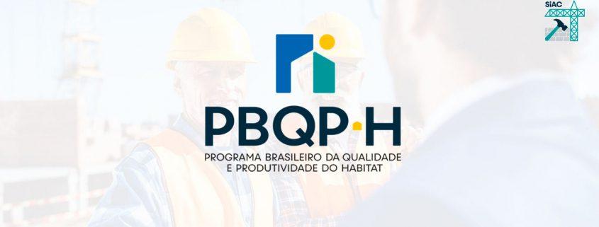 O que é o PBQP-H e sua relação com SiAC 2021